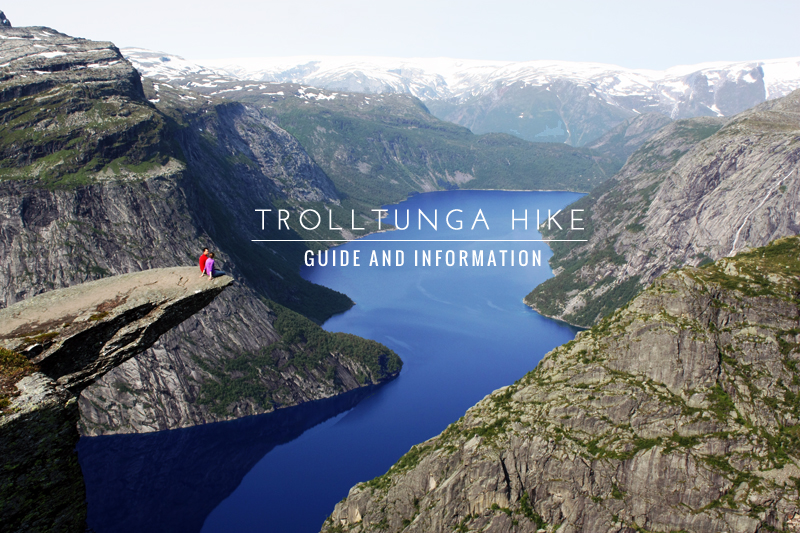 trolltunga hike information and guide
